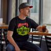Men's Badge Graphic T-Shirt with Polaris® Logo, Black - Image 2 de 2