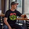 Men's Badge Graphic T-Shirt with Polaris® Logo, Black - Image 2 of 2