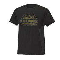Men's Short-Sleeve Roseau Graphic Tee with Polaris® Logo