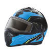Modular 2.0 Adult Helmet with Electric Shield, Blue/Lime - Image 1 of 8