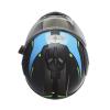 Modular 2.0 Adult Helmet with Electric Shield, Blue/Lime - Image 7 de 8