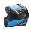 Modular 2.0 Adult Helmet with Electric Shield, Blue/Lime - Image 5 de 8