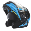 Modular 2.0 Adult Helmet with Electric Shield, Blue/Lime - Image 8 of 8