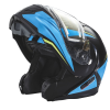 Modular 2.0 Adult Helmet with Electric Shield, Blue/Lime - Image 2 of 8