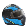Modular 2.0 Adult Helmet with Electric Shield, Blue/Lime - Image 3 de 8