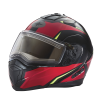 Modular 2.0 Adult Helmet with Electric Shield, Red/Lime - Image 1 of 8