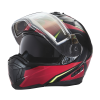 Modular 2.0 Adult Helmet with Electric Shield, Red/Lime - Image 8 de 8