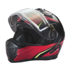Modular 2.0 Adult Helmet with Electric Shield, Red/Lime - Image 6 de 8