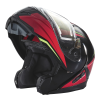 Modular 2.0 Adult Helmet with Electric Shield, Red/Lime - Image 4 of 8