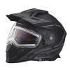 509® Delta Adult Moto Helmet with Removable Electric Shield, Black - Image 1 of 6