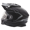 509® Delta Adult Moto Helmet with Removable Electric Shield, Black - Image 2 of 6