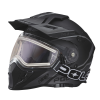 509® Delta Adult Moto Helmet with Removable Electric Shield, Black - Image 3 of 6