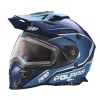 509® Delta Adult Moto Helmet with Removable Electric Shield, Blue - Image 3 of 7