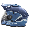 509® Delta Adult Moto Helmet with Removable Electric Shield, Blue - Image 6 of 7