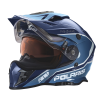509® Delta Adult Moto Helmet with Removable Electric Shield, Blue - Image 4 of 7