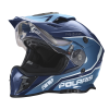 509® Delta Adult Moto Helmet with Removable Electric Shield, Blue - Image 5 of 7
