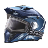 509® Delta Adult Moto Helmet with Removable Electric Shield, Blue - Image 1 of 7