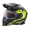509® Delta Adult Moto Helmet with Removable Electric Shield, Black/Lime - Image 1 of 5