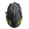 509® Delta Adult Moto Helmet with Removable Electric Shield, Black/Lime - Image 4 of 5