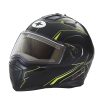 Modular 2.0 Adult Helmet with Electric Shield, Black/Lime - Image 1 of 8