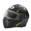 Modular 2.0 Adult Helmet with Electric Shield, Black/Lime - Image 1 de 8