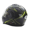 Modular 2.0 Adult Helmet with Electric Shield, Black/Lime - Image 6 of 8