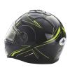Modular 2.0 Adult Helmet with Electric Shield, Black/Lime - Image 6 de 8