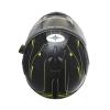 Modular 2.0 Adult Helmet with Electric Shield, Black/Lime - Image 4 de 8