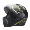 Modular 2.0 Adult Helmet with Electric Shield, Black/Lime - Image 5 of 8