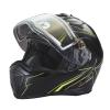 Modular 2.0 Adult Helmet with Electric Shield, Black/Lime - Image 5 de 8