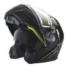 Modular 2.0 Adult Helmet with Electric Shield, Black/Lime - Image 2 de 8