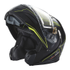 Modular 2.0 Adult Helmet with Electric Shield, Black/Lime - Image 3 of 8