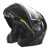 Modular 2.0 Adult Helmet with Electric Shield, Black/Lime - Image 3 de 8
