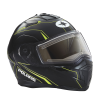 Modular 2.0 Adult Helmet with Electric Shield, Black/Lime - Image 8 of 8