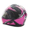 Modular 2.0 Adult Helmet with Electric Shield, Black/Pink - Image 6 de 9