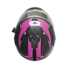 Modular 2.0 Adult Helmet with Electric Shield, Black/Pink - Image 5 of 9