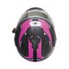 Modular 2.0 Adult Helmet with Electric Shield, Black/Pink - Image 5 de 9
