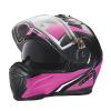 Modular 2.0 Adult Helmet with Electric Shield, Black/Pink - Image 4 de 9