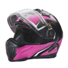 Modular 2.0 Adult Helmet with Electric Shield, Black/Pink - Image 9 of 9