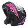 Modular 2.0 Adult Helmet with Electric Shield, Black/Pink - Image 8 de 9