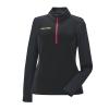 Women's Quarter-Zip Performance Mid Layer Jacket with Polaris® Logo, Black - Image 1 of 3