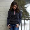 Women's Quarter-Zip Performance Mid Layer Jacket with Polaris® Logo, Black - Image 3 of 3