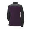 Women's Quarter-Zip Performance Mid Layer Jacket with Polaris® Logo, Purple/Lime - Image 2 of 3