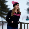 Women's Full-Zip Core Hoodie Sweatshirt with Polaris® Logo, Black - Image 4 of 4