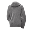 Women's Full-Zip Core Hoodie Sweatshirt with Polaris® Logo, Gray - Image 4 of 4
