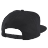 Men's Adjustable Mesh Snapback Hat with Timbersled® Graphic, Black/White - Image 2 de 2