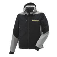 Men's Softshell Jacket with Timbersled® Logo, Black