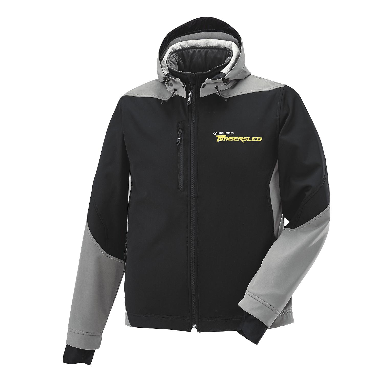 Men's Softshell Jacket with Timbersled® Logo, Black