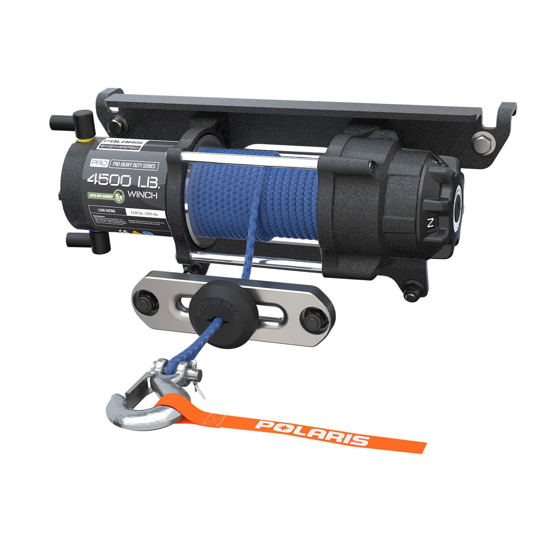 Polaris 4500 Winch Parts Diagram Wiring Champion 2500 Pro Hd Lb With Rapid Rope Recovery Honda Atv