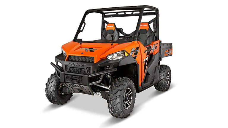 RANGER XP® 900 DELUXE NUCLEAR SUNSET ORANGE